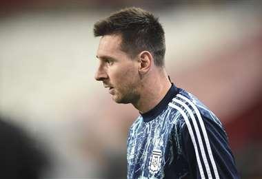 Lionel Messi se cansó del Barcelona. Foto: AFP