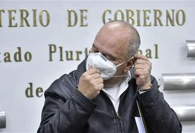 El exministro de Gobierno Arturo Murillo