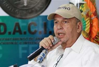 Exministro de Gobierno, Arturo Murillo