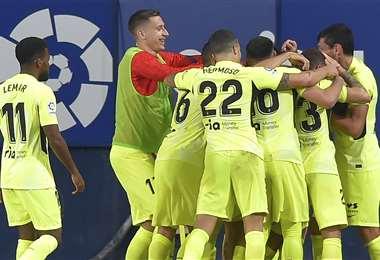 El Atlético llega motivado tras ganar en LaLiga. Foto: AFP