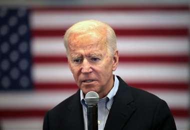 Biden cuestionó los ataques