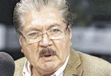 El ex cívico dijo es importante tomar decisiones importantes/Foto:: EL DEBER