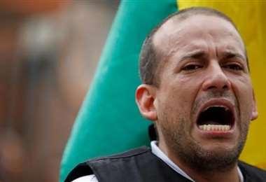 Luis Fernando Camacho, líder de Creemos.