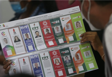 El Órgano Electoral dijo que el conteo fue transparente