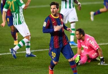 Messi reaparecerá este sábado en el Barcelona tras jugar con su selección. Foto: AFP