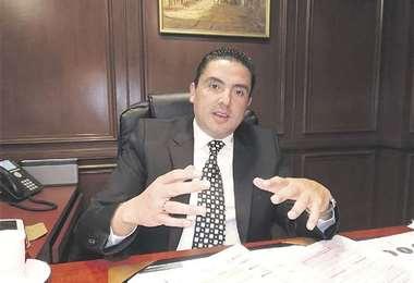 Gerente general de la Cámara Nacional de Comercio (CNC), Gustavo Jáuregui. Foto: EL DEBER