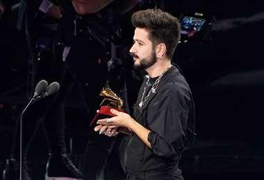 Camilo se llevó un Grammy. La ceremonia se emitió en vivo desde Miami