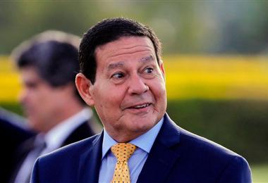 Hamilton Mourao, vicepresidente de Brasil. Foto. Internet