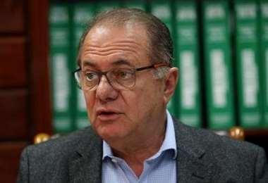 Luis Barbery,  presidente de la CEPB. Foto: EL DEBER