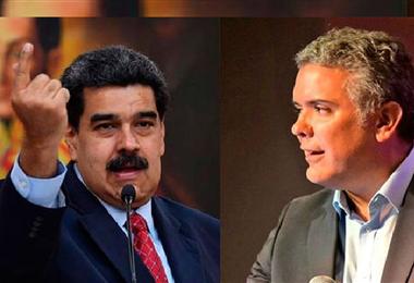 Maduro acusó a Duque de robar dinero de migrantes venezolanos. Foto. Internet
