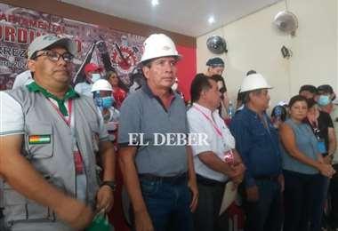 Rolando Borda es el secretario ejecutivo de la COD Santa Cruz. Foto: Juan C. Delgadillo