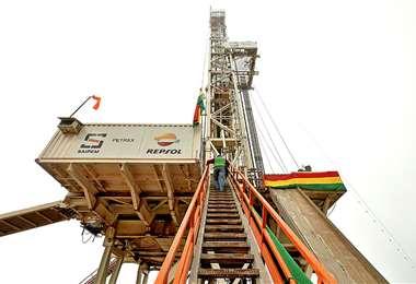 Es el pozo gasífero más profundo de la región