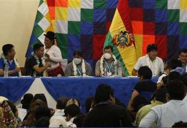 El encuentro se desarrolla en Cochabamba. Foto: APG Noticias