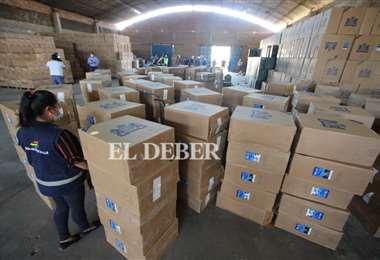 Por tributos omitidos de la mercancía se estiman Bs 10.948.114 /Foto: Juan Carlos Torrejón