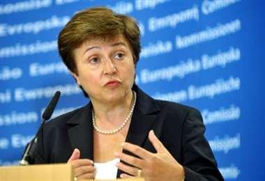 Para Georgieva la perspectiva de una vacuna no es suficiente