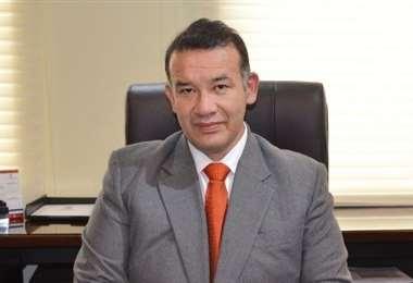 El director del INE, Humberto Arandia Claure.