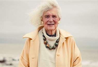 Jan Morris, ex periodista del Time, murió el viernes a los 94 años. Foto: internet