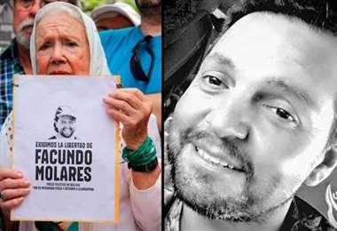 Gobierno argentino pide su liberación.