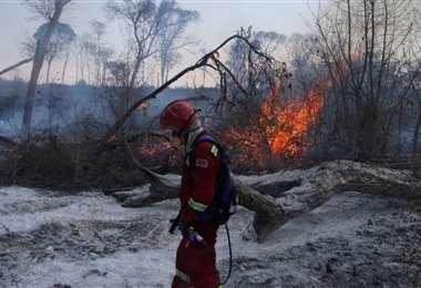 En 2020, ya se quemaron más de 2 millones de hectáreas. Foto referencial: Ipa Ibañez