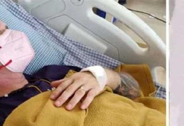 Ian Jones fue mordido por una cobra en el distrito rural de Jodhpur