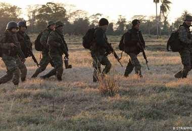 El cuerpo de élite que combate a esa guerrilla informó de tres fallecidos
