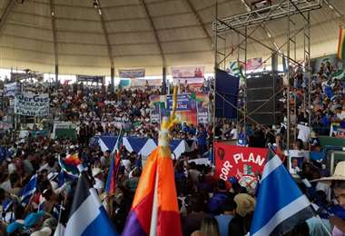 Ampliado del MAS en Montero