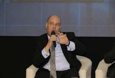 Osmel Manzano es asesor regional de Economía del Bid, participó en el evento