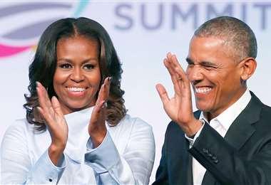 Michelle, de 56 años, y Barack Obama, de 59