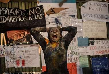 Protestas en Perú /Foto: AFP