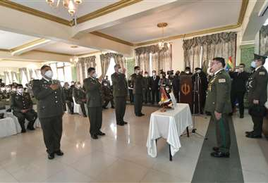 Acto de posesión al Estado Mayor policial I APG Noticias.