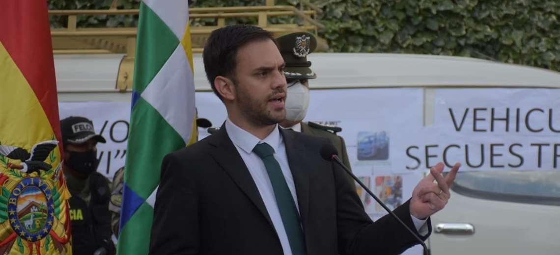 El ministro de Gobierno I APG Noticias.