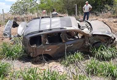 Fatal accidente ocurrido en El Tinto