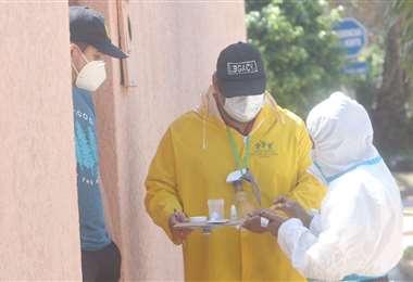 Hoy se registraron 4 nuevos casos de Covid-19 en Santa Cruz. Foto: Jorge Ibañez