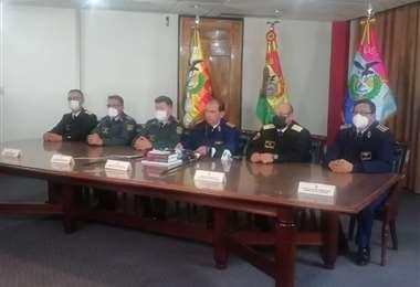 El Alto Mando Militar emitió este miércoles un comunicado.