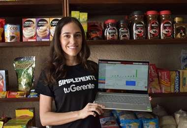 Omaira Saucedo nació en Santa Cruz y tiene 33 años