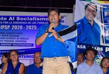 El diputado del MAS que es desautorizado por su partido (foto: Facebook)