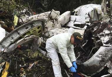 El accidente enlutó a Brasil y al mundo del fútbol