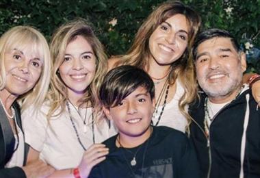 Los hijos de Maradona heredarán millones