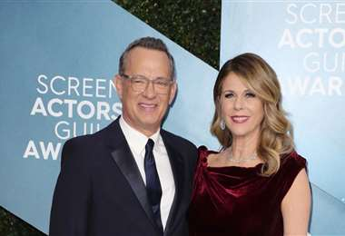 El actor Tom Hanks y su esposa Rita Wilson se contagiaron de Covid 19 en Australia