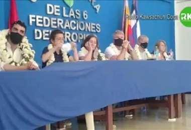El grupo de expertos del GIEI llegó hasta el trópico de Cochabamba.
