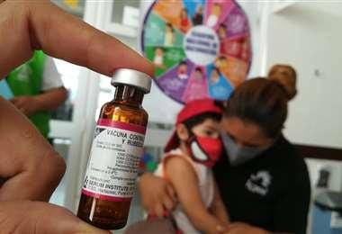 En esta jornada se comenzó la vacunación alrededor de 241 manzanas /Foto: Ricardo Montero