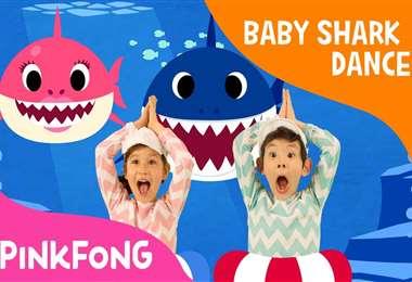 Baby shark fue colgada en YouTube el 17 de junio de 2016