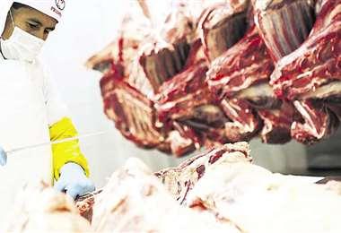 La carne fue uno de los alimentos que más exportó Bolivia/Foto: EL DEBER