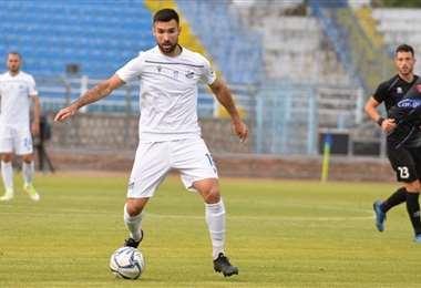 Danny Bejarano, jugador boliviano del Lamia FC de Grecia. Foto: internet