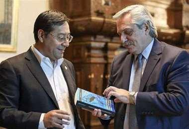 Presidentes de Bolivia y Argentina
