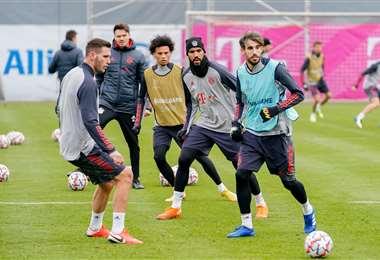 Entrenamiento del Bayern