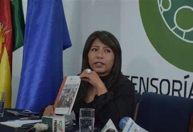 Nadia Cruz, defensora del Pueblo I APG Noticias.