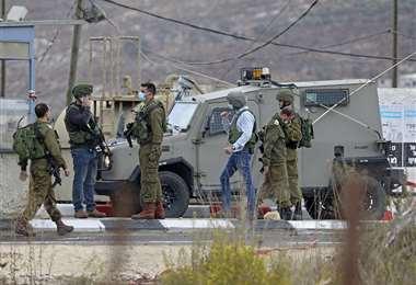 El ejercito israelí extrema precauciones tras intervención en el valle de Jordán. Foto:AFP