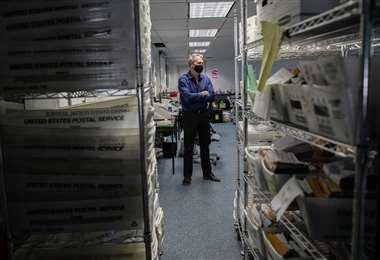 El voto por correo, clave en los comicios estadounidenses. Foto: AFP