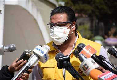 Luis Revilla, alcalde de La Paz.